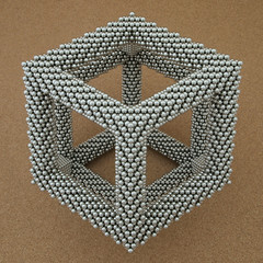 "Rhombic Dodecahedron Frame <a style=""margin-left:10px; font-size:0.8em;"" href=""http://www.flickr.com/photos/76197774@N08/16969781278/"" target=""_blank"">@flickr</a>"