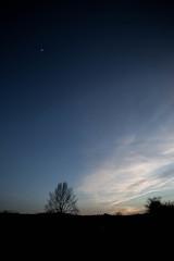 Ojalá Pudiera Tocarte (I Wish I Could Touch You) (Dibus y Deabus) Tags: blue sky españa moon tree azul canon landscape arbol reflex spain gijón asturias paisaje luna cielo nubes wish dslr gijon deseo 6d canon6d