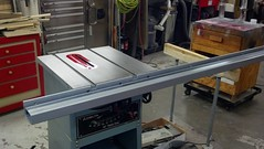 Miles Crystal Table Saw Guide Rails