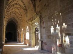 Sun and shadows in cloisters, Sigüenza Cathedral, Spain (Paul McClure DC) Tags: españa spain cathedral historic castillalamancha castile sigüenza june2014