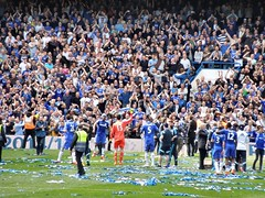 Chelsea 2014/15 champions (Paul-M-Wright) Tags: uk bridge london football chelsea crystal soccer sunday may palace 03 match stamford premier league versus cfc 2015 cpfc