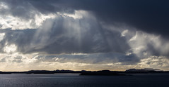 A breaktrough (Per-Karlsson) Tags: light sea sky sunlight seascape water norway clouds island coast norge day ray overcast helgeland herøy canoneos6d haroy cloudsstormssunsetssunrises
