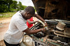 How to make a snorkell - African Style 2 (Amp34) Tags: africa road west car 4x4 tube pipe central pickup can off double plastic overloaded gabon gamba snorkell mitsubushi