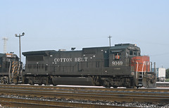 4 Photos of Cotton Belt Power (railfan 44) Tags: southernpacific