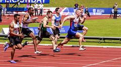 100m Mens kilty (stevennokes) Tags: woman field athletics birmingham track meadows running smith mens british hudson sainsburys asher muir hurdles rooney 100m 200m sprinter 400m 800m 5000m 1500m mccolgan twell