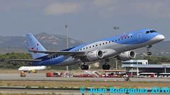 OO-JEB - Jetairfly - Embraer ERJ-190STD (ERJ-190-100) - PMI/LEPA (Juan Rodriguez - PMI/LEPA) Tags: nikon d90 sigma 70200mm 80400mm pmilepa aeropuerto airport sonsanjuan sonsantjoan palma mallorca aeroplano airplane plane aircraft embaer erj190100 oojeb jetairfly