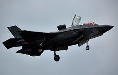 F-35 Lightning (Bernie Condon) Tags: usmc flying fighter display aircraft aviation military jet airshow marines lightning bomber farnborough fbo f35 usmarines lockheedmartin vstol lightningii f35b