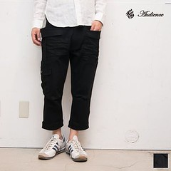August 05, 2016 at 09:43PM (audience_jp) Tags: ボトムス 春夏 fashion webstore 東京 メンズ style 黒 mens 高円寺 ガーデニング クロップド デニム ブラックデニム レディース ladys nowavailable