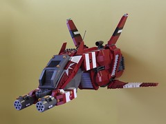 Taiidan Scout, front side (zwitl) Tags: lego homeworld taiidan scout zwitl spaceship