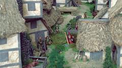 Market day in Woodford in Rhovanion. (torq42) Tags: 15mm 18mm fantasy lordoftherings wargame dragonrampant tabletop middleearth warhammerfantasy