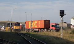Busy Port (Dave McDigital) Tags: ews englishwelshandscottishrailway 6c17 60 tug class60 voridian workingtondocks container pet creep signal 60020