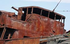 rusting bridge (foxtail_1) Tags: lagrandehermine thebigweasel jordanharbour shipwreck