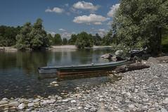 Il fiume azzurro - Ticino!!! (Claudia Zuber) Tags: ticino fiume river blue water sun