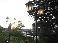 Hermans 13 (Helen White Photography) Tags: hermans restaurant vegetarian stockholm terraced gardens view sunset summer