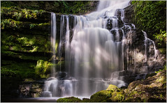 Scaleber Force, Yorkshire Dales - EXPLORED (MarkLG1973) Tags: 24120mmf40 rocks scaleberforce yorkshiredalesnationalpark beautiful d600 falls flow flowing green landscape nature nikon park river rock stream uk water waterfall cravendistrict england unitedkingdom gb