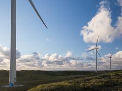 Noordpier (Paul Beentjes) Tags: nederland netherlands noordpier northpier pier zee sea noordzee northsea sunset zonsondergang wolken clouds windturbine windmolen windmill duinen dunes