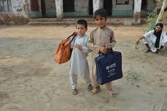 New Eid gift for a child in Pakistan (Ummah Welfare Trust) Tags: pakistan children islam eid kpk