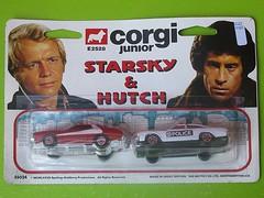 Starsky & Hutch (streamer020nl) Tags: greatbritain toys corgi model police jr junior gb hutch juniors 1977 starsky 2528 diecast jouets spielwaren mettoy