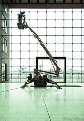 hydraulic (jonashellmann) Tags: windows architecture port ramp fenster hamburg architektur hh hafen kran elbe gegenlicht hanse habour grose hydraulic mosaik symetrie elb hebebhne strase quadrate hafenkran rechtecke
