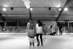 Ice skating (duck vs. chicken) Tags: newzealand snow ice disco nikon women iceskating auckland nz peoplewatching icwe nikond7200