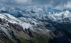 From the pinnacle to the pit (gregorio_rossi) Tags: hohe tauern mountains grossglockner grosglockner glacier montagna hiking austria snow ice alti tauri alps alpi