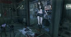 Look # 221 (Alexa Sabetha | Yes Please!) Tags: zombie avatar vinyl rude sl secondlife virtual ultra hx backbone tmd azuchi treschic virtualgirl pewpew haikei theepiphany wasabipills since1975 kustom9 zibska thecrossroadsevent