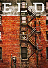 The vision must be followed by the venture. It is ... (mariogarcia10) Tags: ifttt 500px old architecture building window brick wall urban street city stairs denver colorado