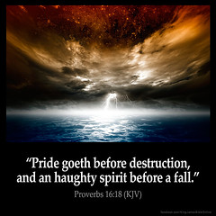 Proverbs 16:18 (@CHURCH4U2) Tags: bible verse pic image picture daily king james version kjv proverbs 1618