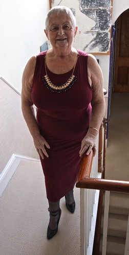 Frocks on the stairs 49-3