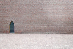 muse unterlinden - colmar (al_st) Tags: architecture museum exhibition cathedral bricks herzogdemeuron abstract front window door wall light museunterlinden