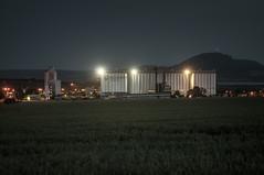 . (Vratislav Indra Art and Photography) Tags: vratislavindra nightphotography longexposure art manmade landscape industrial agriculture silo