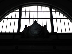 Station Time (failing_angel) Tags: 130915 kent margate margatestation clock railway
