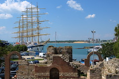 Nessebar IMG_4159 (SunCat) Tags: nessebar bulgaria europe travel vacation 2016 all barenecessities goldenhorn cruise canon powershot g3x royalclipper tallship