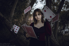 Sorceress in nightmare (TAKAGI.yukimasa1) Tags: portrait woman people girl beauty fineart mysterious canon eos 5dsr japanese asiangirl cool dark darkness forest magician