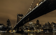 Manhattan Bridge 3 (rayordanov) Tags: manhattanbridge nyc brooklyn newyork skyline citylights bridge waterfront eastriver
