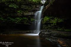 Gibson's cave (R0BERT ATKINSON) Tags: gibsonscave summerhillforce waterfall water robatkinsonphotography middletoninteesdale rocks northeastengland leefilter sigma1020 countryside nikond5100 trees