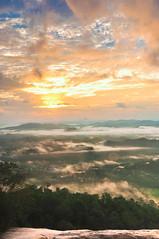 SUnrise at Top Jelawang waterfalls (Azizasrar Photoghraphy) Tags: sun sunrise tokina stongmount amateurtobepro travellight slowshutter mountain
