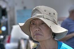 asiatic (eliobuscemi) Tags: asiatica cinese espressione volto cappello