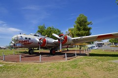 BOEING B-17G FLYINGFORTRESS (<<Purple Bullet>>) Tags: castle air museum b17 b24 b29 b36 b47 b52 vulcan sr71 bomber fighter aircraft plane sonya6000 zeiss