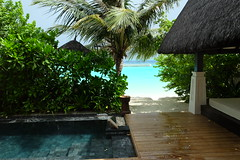 View from Beach Villa 202 (survivingmaldives) Tags: jumeirah vittaveli maldives surviving