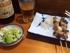 Grilled duck skewers from Hosaka @ Shinbashi (Fuyuhiko) Tags: grilled duck skewers from hosaka shinbashi       tokyo
