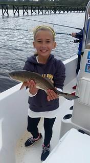 kid-friendly fishing chartes Fernandina Beach