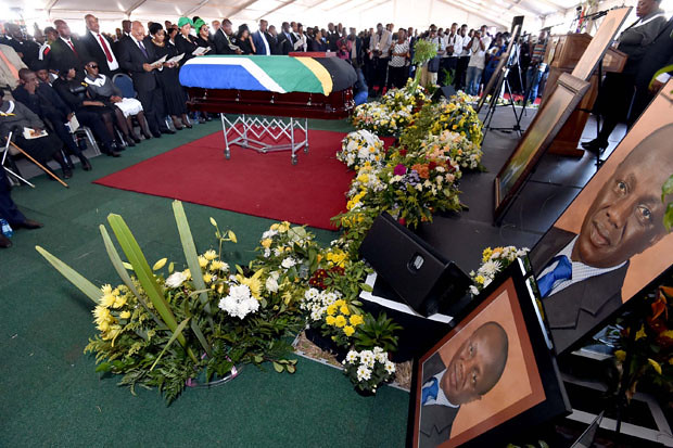 Funeral of Minister Collins Chabane, 21 Mar 2015