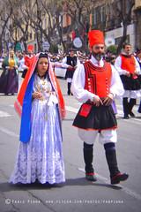 Festa di Sant'Efisio, 1 Maggio 2014 (Cagliari, Sardinia) (Fabio Pinna) Tags: sardegna street lomo lomography europe sardinia folklore tradition cagliari 2014 folclore santefisio holgalens 1maggio festadisantefisio