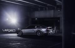 Ford Mustang GT Velgen Wheels VMB5 20x9 & 20x10.5 (VelgenWheels) Tags: auto cars ford speed yahoo google muscle performance automotive pony american shelby mustang custom coupe bing svt gt500 felgen illest five0 velgenwheels vmb5 velgn