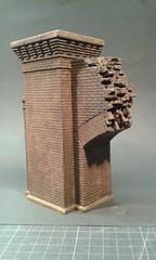 All Is Not Lost (Bridgehead Berlin) (modelsnprops) Tags: berlin miniature model culture books save librarian modell protect gleisdreieck