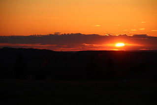 Central NY sunset