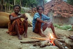 Lives (arifismyname) Tags: travel trees people india rural trekking fire village streetphotography tribal hut expressive vizag araku andhrapradesh incredibleindia