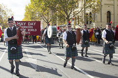 (louisa_catlover) Tags: demo march democracy workers politics rally protest may australia melbourne victoria class demonstration solidarity unions activism mayday socialism 2015 tradeunions workersrights 8hourday