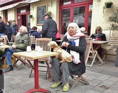 2015-03-21  Dinard - Le Marché des Anges - 6 Rue de Verdun (P.K. - Paris) Tags: street people mars café march brittany terrace candid terrasse bretagne sidewalk 2015